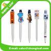 Ручка Ballpoint пластичного изготовленный на заказ логоса шаржа специальная (SLF-PP043)