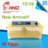 56 Machine van de Incubator van het Ei van de Kip van eieren de Nieuwe Model Automatische