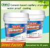 Enduit de imperméabilisation cristallin capillaire de ciment élastique élevé