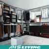 Tarjeta del MDF y caminata a prueba de humedad de la madera contrachapada en el guardarropa del armario (AIS-W181)