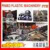 Recicl plástico de duas máquinas do estágio