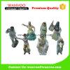 Figurine en céramique de danseur de forme différente avec l'Européen