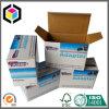 Гофрированной бумага переходники печати Litho коробка одностеночной упаковывая