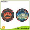 A fábrica Halloween feito sob encomenda sustenta as moedas plásticas feitas na moeda plástica feita sob encomenda de China para a decoração de Halloween