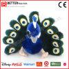 China-angefülltes Tier-Plüschpeafowl-weiches Pfau-Spielzeug