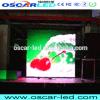Afficheur LED polychrome d'intérieur de la publicité P7.62 commerciale