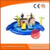 Het nieuwe ReuzePirateship Pretpark van het Ontwerp Aqua met Pool en Kleine Dia's T13-002