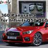 Hintere Ansicht-u. des Panorama-360 Schnittstelle für 2014 oder neueres Infiniti Q50 Q60 mit Signaleingang-Form-Bildschirm des Infiniti Multimedia-Systems-Lvds RGB