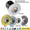 diodo emissor de luz Rated Downlight da ESPIGA do incêndio de 10W 12W IP65 Dimmable BS476 90mins
