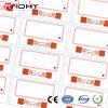 Embutido de la tarjeta inteligente del PVC del híbrido 6*10 RFID