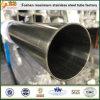 Нержавеющая санитарная труба ASTM 270 в 316 пробках нержавеющей стали внутренних сваренных