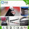 Câble solaire 4mm2 de picovolte de dual core approuvé du constructeur TUV d'usine