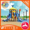 La glissière de parc d'attractions badine le matériel extérieur de cour de jeu de Chambre de jeu
