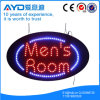Oval Hidly Electronic Men' S Room LED Sign