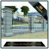 Valla de seguridad de aluminio moderna del jardín del color blanco simple del estilo