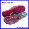 Moda PE Flip Flop per le signore con le cinghie in PVC