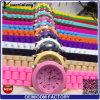Yxl-344 2016熱い販売の優雅の女性の腕時計のカスタム印刷されたロゴのシリコーンの腕時計の女の子キャンデーカラー水晶腕時計