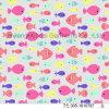 女の子の水着80%Nylon 20%Spandexファブリックのための美しい魚の印刷