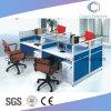 Nuevo sitio de trabajo de los muebles de la oficina conceptora del precio inferior con color mezclado
