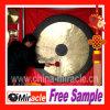 Gong en laiton chinois fabriqué à la main de musique immémoriale de la Chine