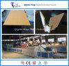 생성 PVC 목제 플라스틱 벽면, WPC PVC 단면도 밀어남 선을%s WPC 기계