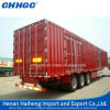상자 또는 밴 Caogo Semi Trailer/Steel Box Commercial Vehicle