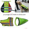 Animal de estimação que emenda a veste reflexiva da segurança