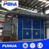 Manueel Zandstralend Zaal met het Schurende Systeem van het Recycling