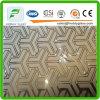 l'acide en verre d'art de 4-6mm a repéré la glace d'art avec du ce et l'ISO9001