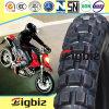 Pente de la Chine un pneu sans chambre de moto de P.R. du butyle 6