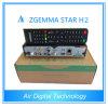 Приемник спутникового телевидения T2 Zgemma-Звезды H2 комбинированный DVB S2