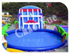 Гигантское Inflatable Water Slide Toy для Inflatable Swimming Pool (CYWG-1528)