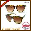Óculos de sol plásticos F7066 da cor feita sob encomenda relativa à promoção
