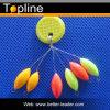 다채로운 잉어 어업 부유물 마개