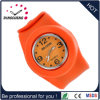 Belle montre-bracelet orange de quartz de bracelet de la mode 2015 (DC-938)