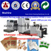 Food di carta Bag Making Machine con 2 Color Printing Machine in Line Food Paper Bag Making Machine