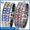 Reloj creativo del regalo del samurai del acero inoxidable LED
