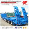 Quatro carregador da capacidade dos eixos 80ton baixo para o mercado de Tanzânia