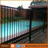 Rete fissa d'acciaio della piscina di colore nero rivestito della polvere