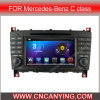 Mercedes Clk W203 (AD-7508)를 위한 A9 CPU를 가진 Pure Android 4.4 Car DVD Player를 위한 차 DVD Player Capacitive Touch Screen GPS Bluetooth