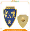 la policía del metal del diseño del cliente 3D Badge