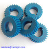 Making Plastic Wheel Gear for Toy