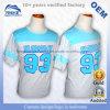 Promoção por atacado dos ventiladores de futebol do basebol que anuncia t-shirt baratos