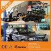 Precio de la elevación del estacionamiento del coche del control manual de dos columnas