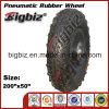 para pneus de borracha Semi-Pneumáticos do Lawnmower 200X50