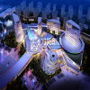 建築視覚化をする夜3D