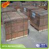 Ladrillos de arcilla de fuego refractarios en la fábrica de Zibo en China