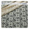 Cotton Ivory Lace Fabric para Garment/Chemical Cotton Lace Fabric Cy-Dk0012