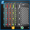 Hybrider Shockproof schroffer starker Rüstungs-Kasten für das iPhone 7/7 Plus