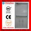 Porta de fogo de aço com barra do impulso (CF-F001)